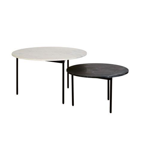 Maison Du Monde Table Gigogne.Tables Gigognes En Marbre Et Metal
