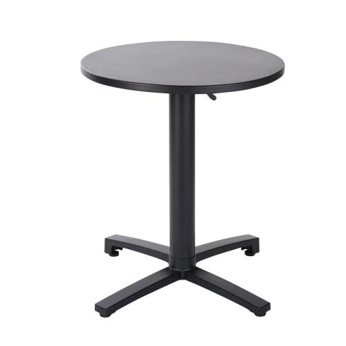 Tavolo Da Giardino Metallo.Tavolo Da Giardino Professionale In Metallo Nero 60 Cm Pia Pro