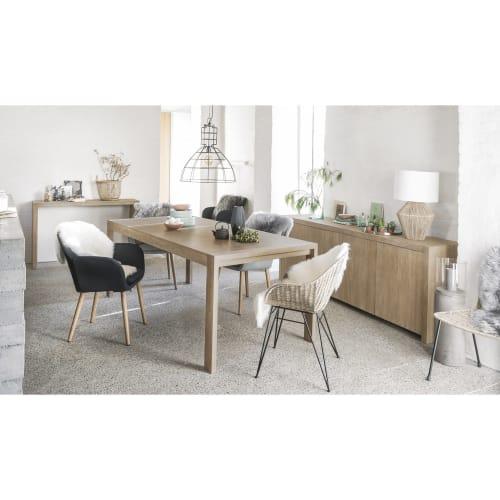 Tavolo Da Pranzo Allungabile 6 8 Persone L 160 210 Cm Baltic Maisons Du Monde