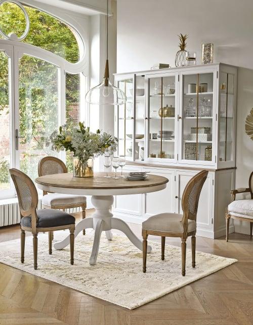 Tavolo Da Pranzo Allungabile 6 A 8 Persone 140 190 Cm Provence Maisons Du Monde