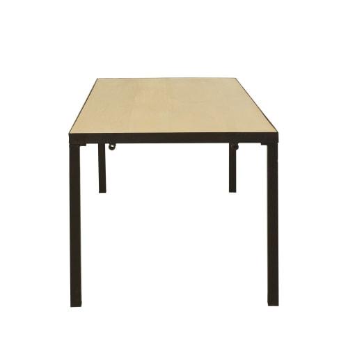 Tavolo Da Pranzo Allungabile Piano Legno.Tavolo Da Pranzo Allungabile In Legno Massello Di Mango 8 10
