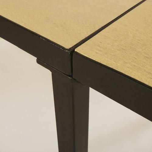 Tavolo da pranzo allungabile in legno massello di mango 8/10 persone, l  180/280 cm
