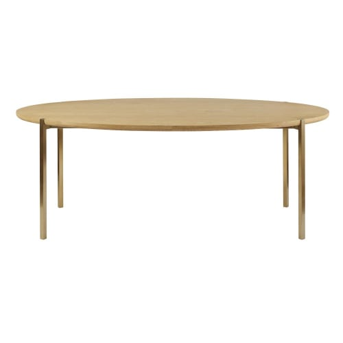 Tavolino Da Boudoir.Tavolo Da Pranzo Ovale 6 8 Persone 200 Cm Maisons Du Monde