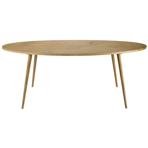 Maison Du Monde Tavoli Da Cucina.Tavolo Da Pranzo Ovale 8 Persone 200 Cm Origami Maisons Du Monde