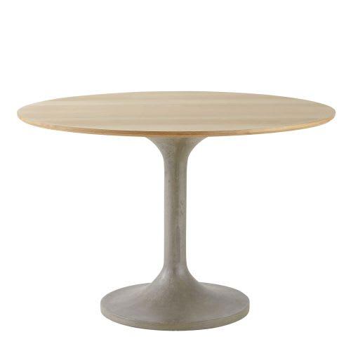 Tavolo da pranzo rotondo 4/6 persone, 115 cm