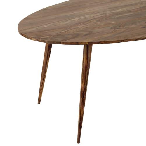 Tavolo Ovale In Massello Di Legno Di Sheesham Per Sala Da Pranzo 200 Cm Andersen Maisons Du Monde