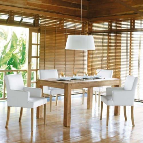 Tavolo Per Sala Da Pranzo In Massello Di Legno Di Sheesham 160 Cm Stockholm Maisons Du Monde