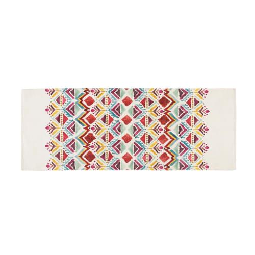 Kurzflor Teppich Ethno Muster Teppich Wohnzimmer 13