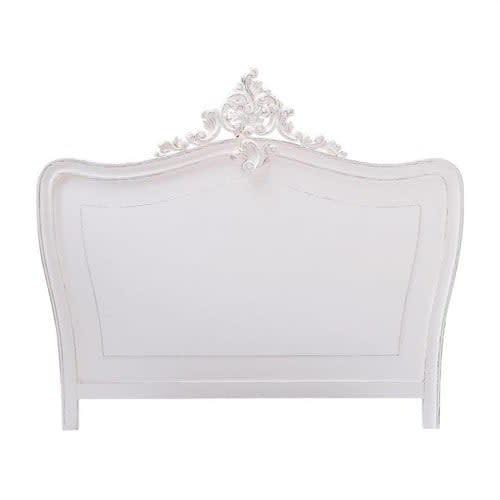 Tête de lit blanche L160 Comtesse | Maisons du Monde