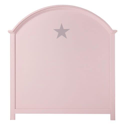 Tête de lit enfant 90 cm rose