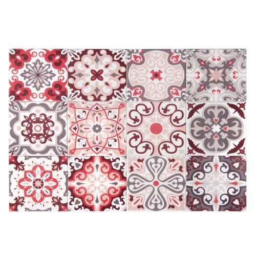 tovaglietta in vinile con motivi a mattonelle 30x45 cm