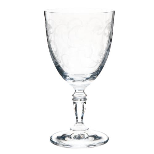 Verre à vin en verre | Maisons du Monde