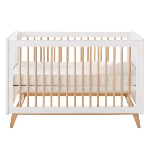 Babybedje Voor Buiten.Vintage Babybed Met Spijlen L125