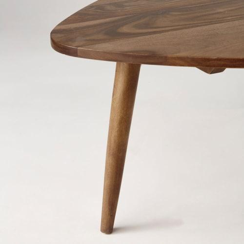 Wonderlijk Vintage salontafel van massief sheesham hout Andersen | Maisons du IW-92