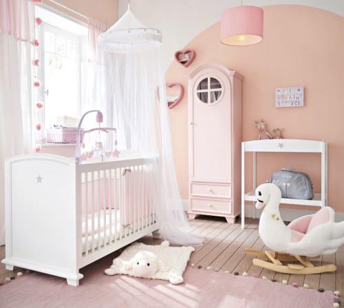 Weiß rosa Regal in Herzform Lilly   Maisons du Monde