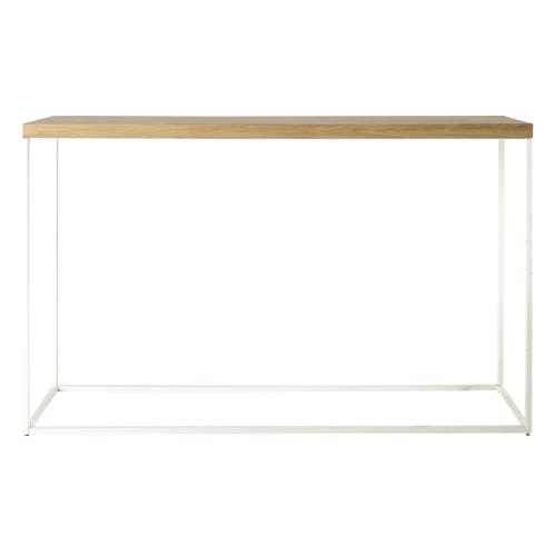 Witte Side Table.Witte Sidetable Maisons Du Monde