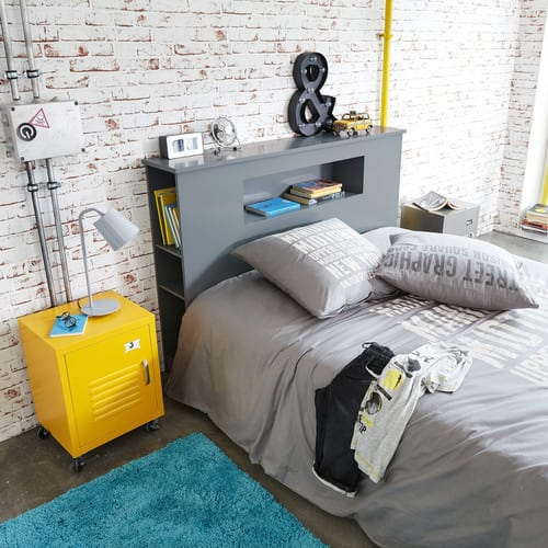 Tremendous Yellow Metal Bedside Table On Wheels Interior Design Ideas Tzicisoteloinfo