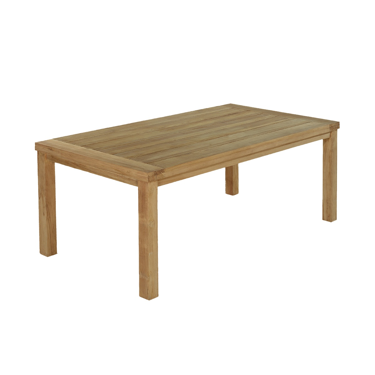 Table de jardin en teck massif L250