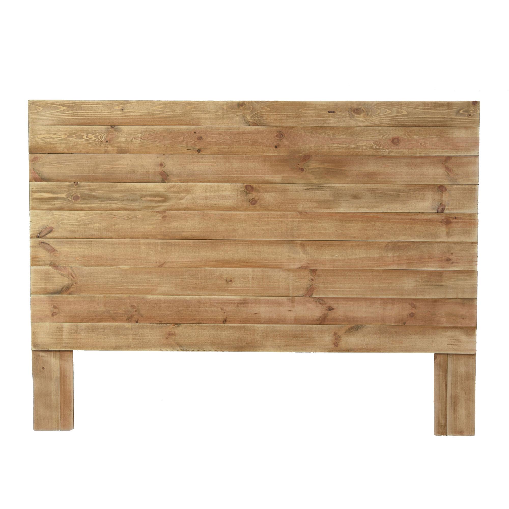 Tête de lit 160 pin massif bois vieilli
