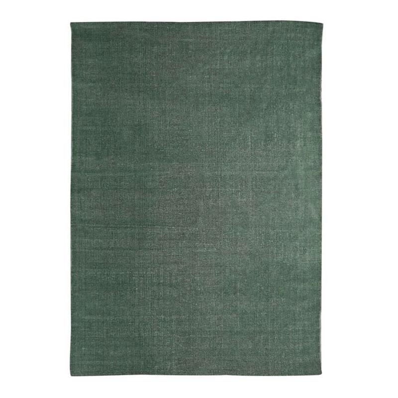Tapis effet délavé vert foncé 120x170