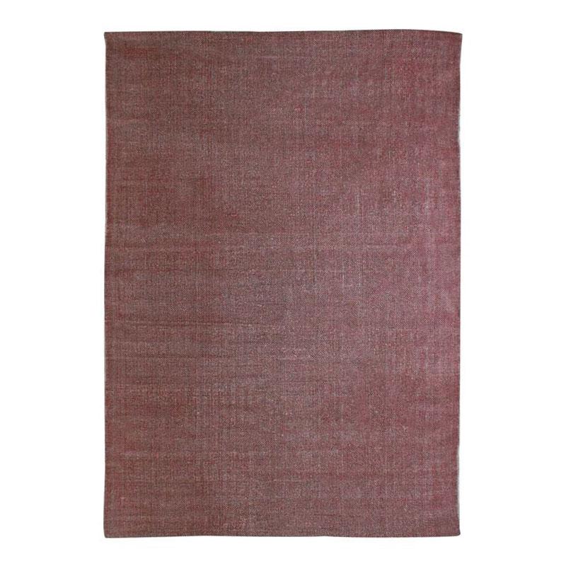 Tapis effet délavé burgundy 120x170