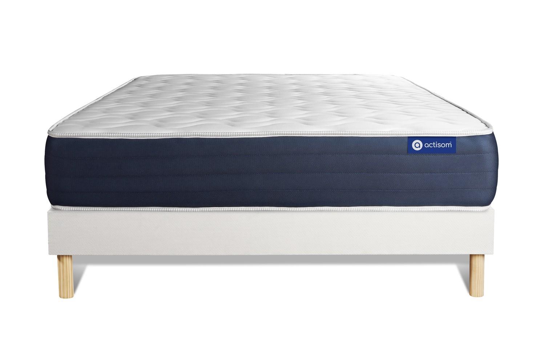 Ensemble ACTIMEMO SLEEP 160x200cm sommier kit blanc