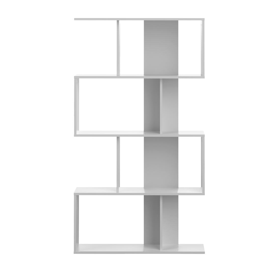 Bibliothèque effet bois Blanc
