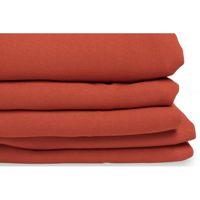 Rideau phonique thermique occultant orange 140x260