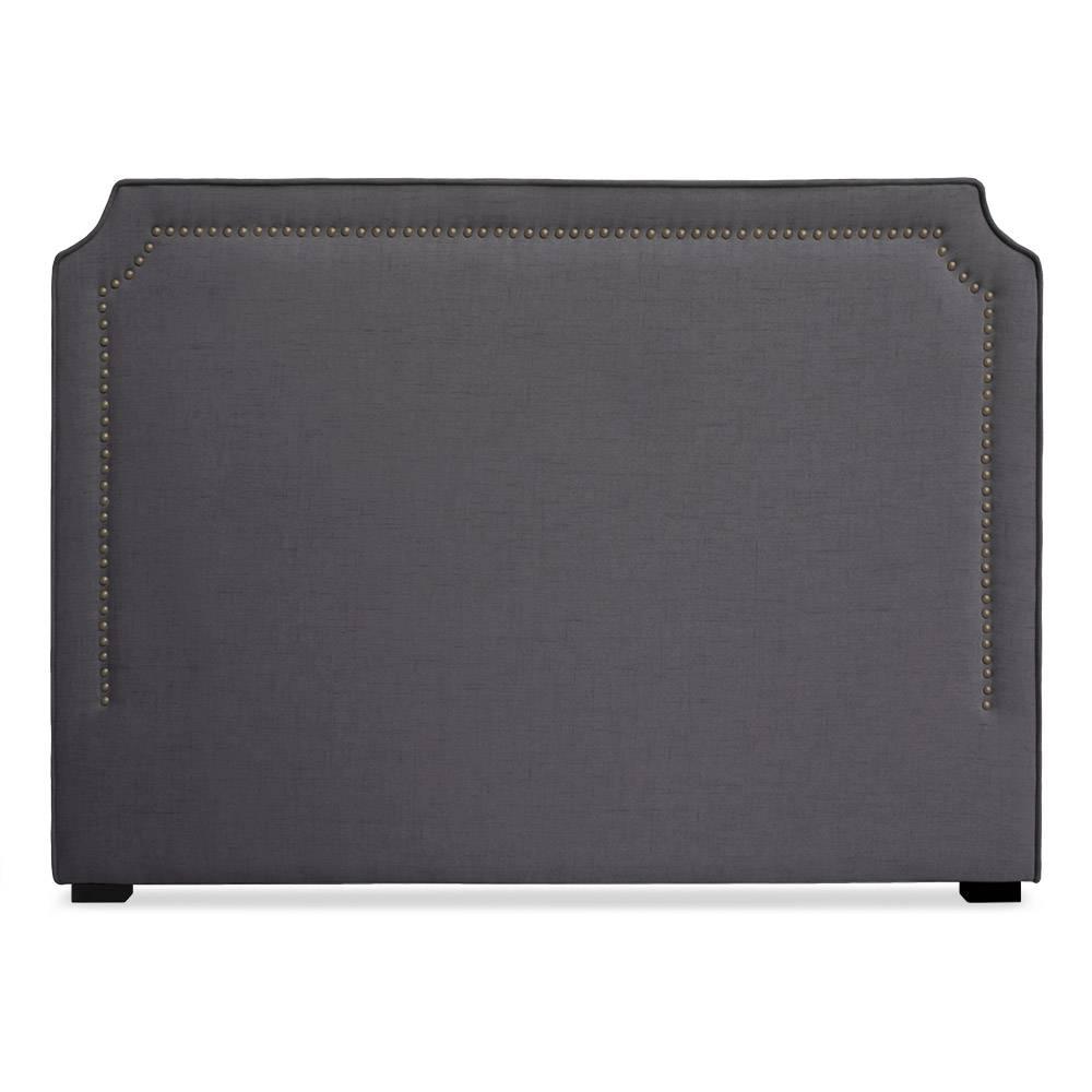 Tête de lit  160cm tissu gris