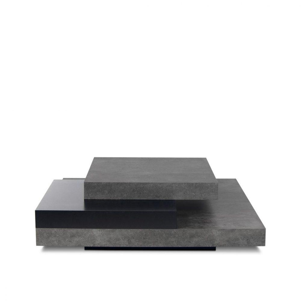 Table Basse, Béton et noir SLATE