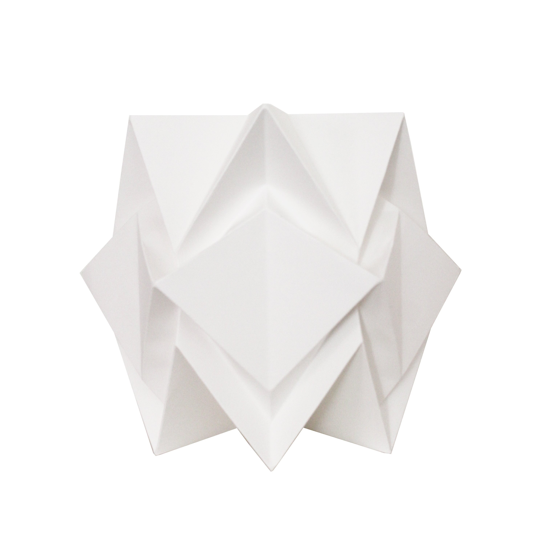 Lampe de table origami en papier taille S