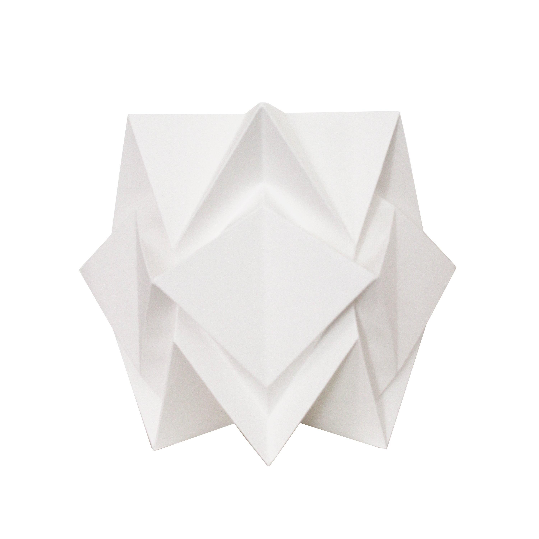 Lampe de sol origami en papier Hikari L