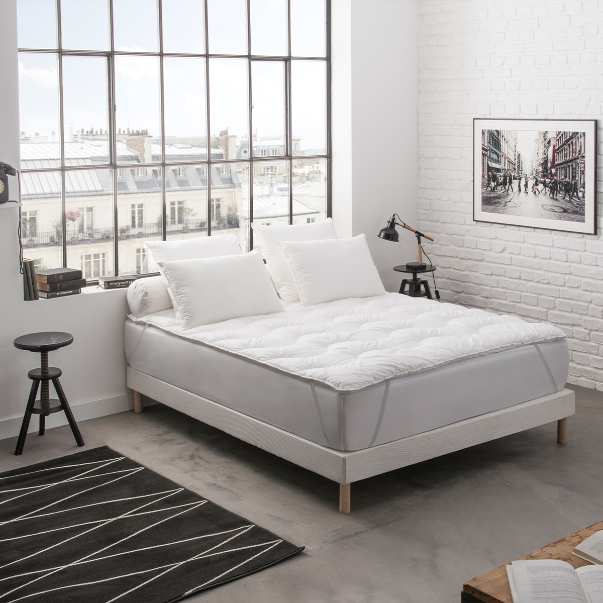 Surmatelas Surconfort® Ultra Confort 90x190 cm