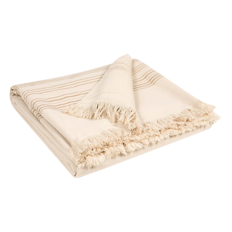 Drap de douche en coton lin 70 x 140