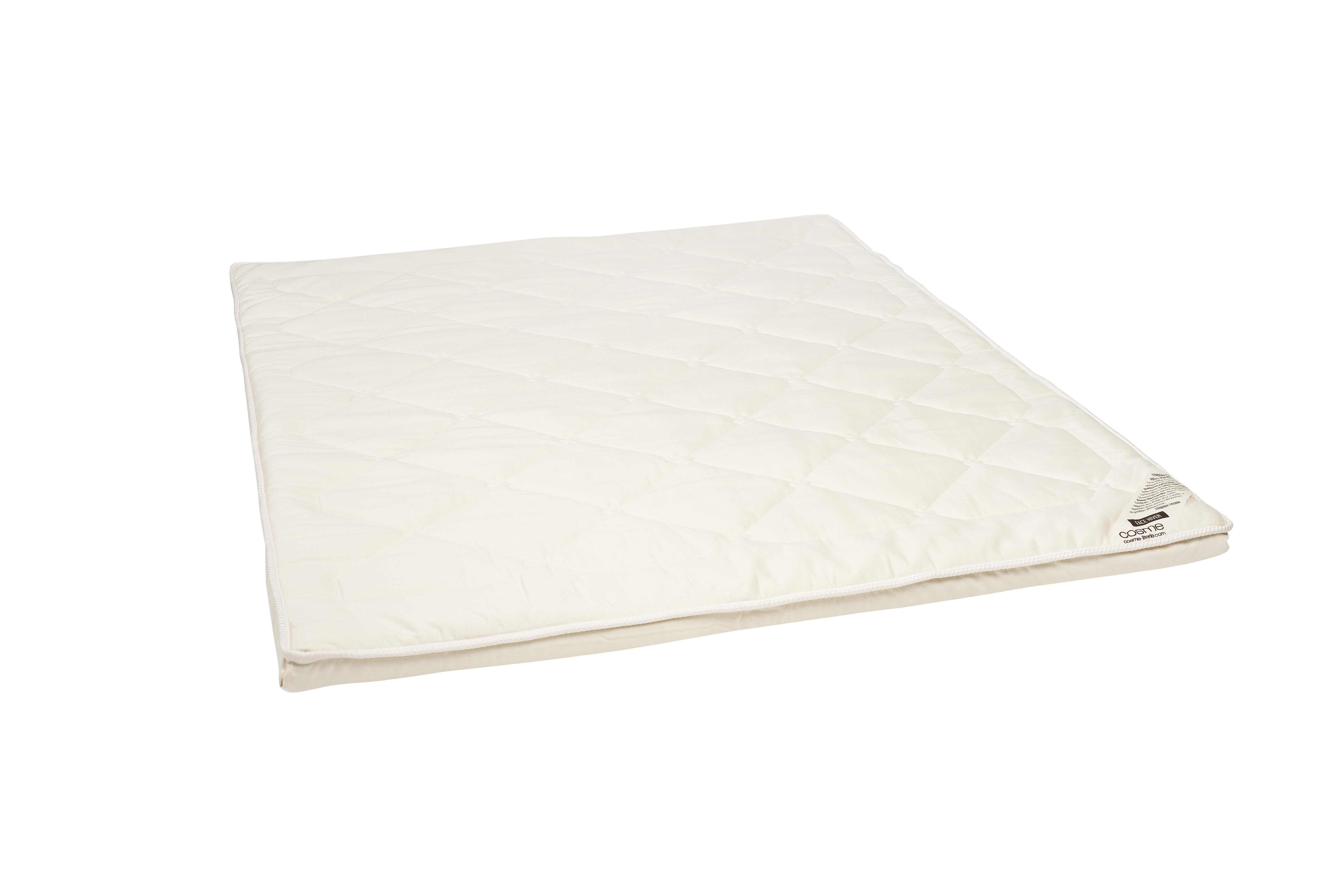 Surmatelas souple latex 100% naturel 180x200