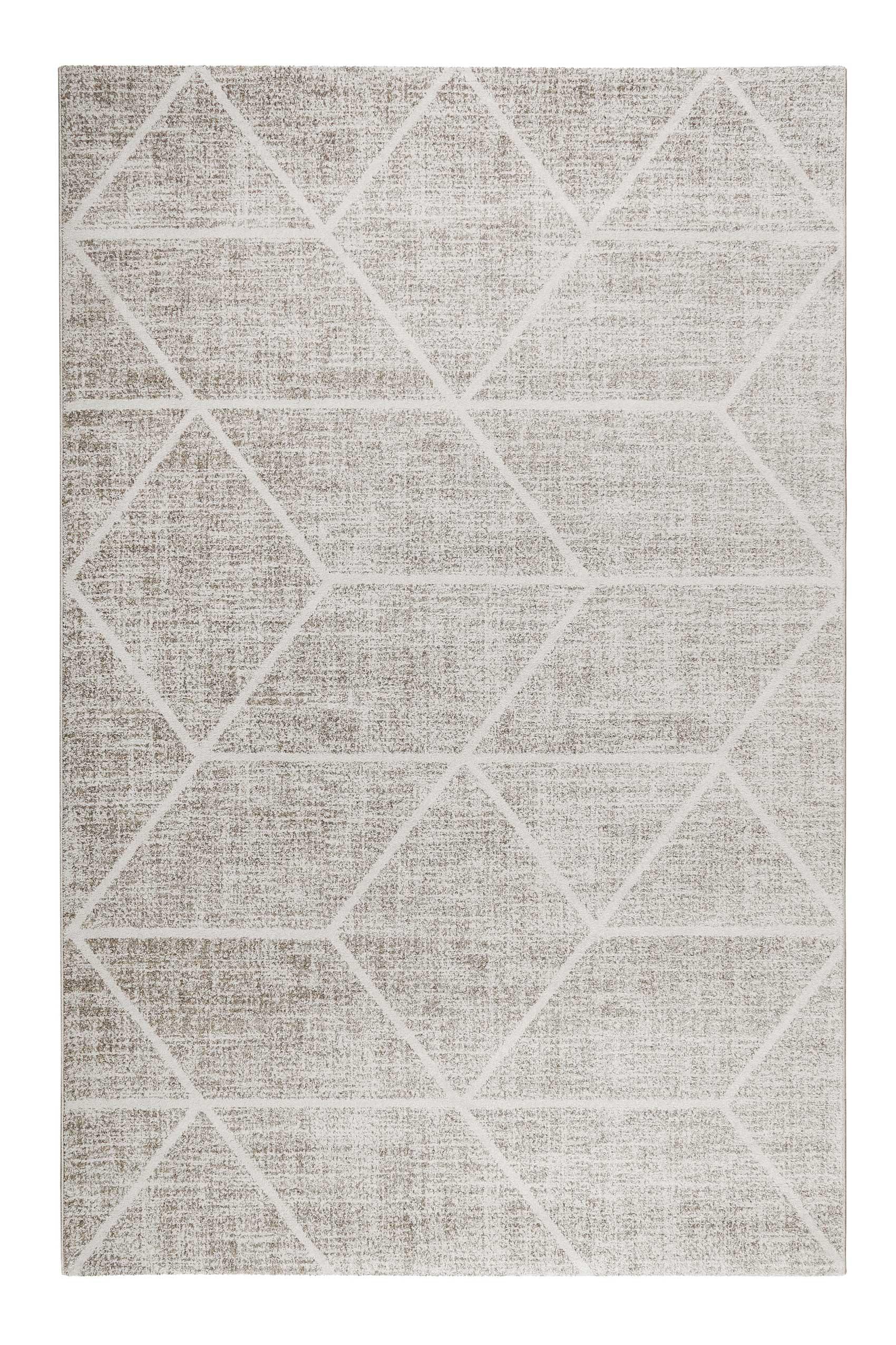BOSSA LOUNGE - Tapis graphique à poils courts multicolore 200x133