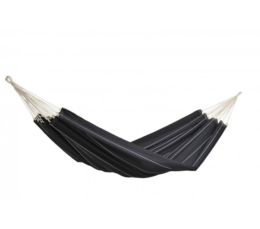 Hamac double en coton noir
