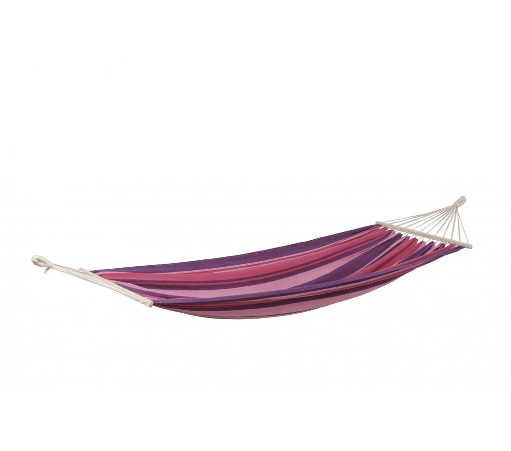 Hamac simple à barre en tissu imperméable violet