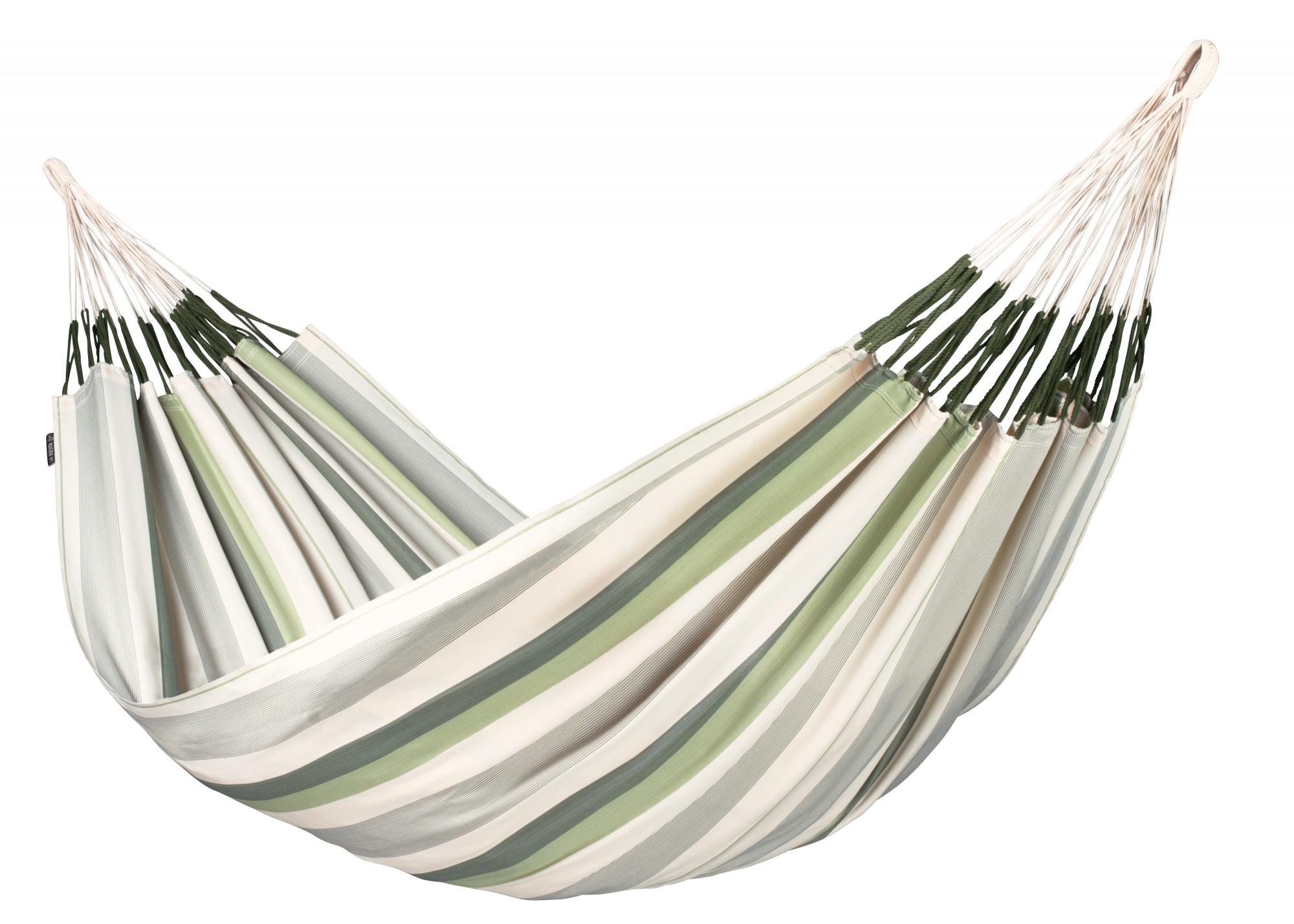 Hamac classique kingsize en tissu vert clair