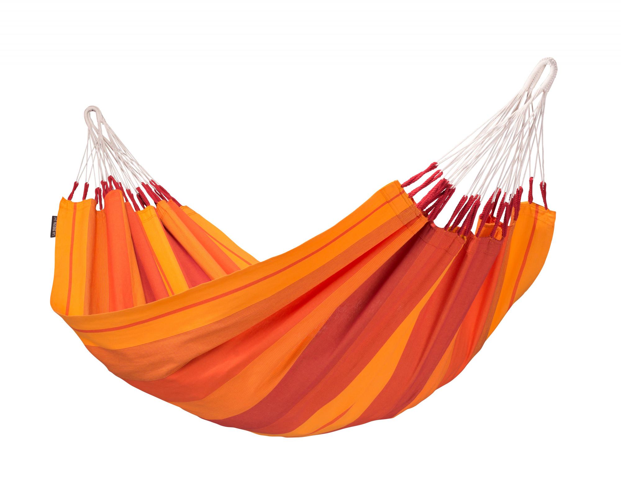 Hamac classique en coton rouge
