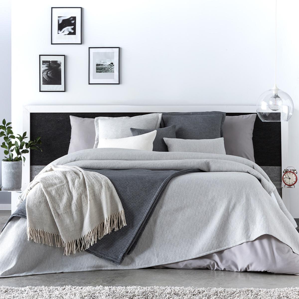 Couvre lit en coton perle 250x270