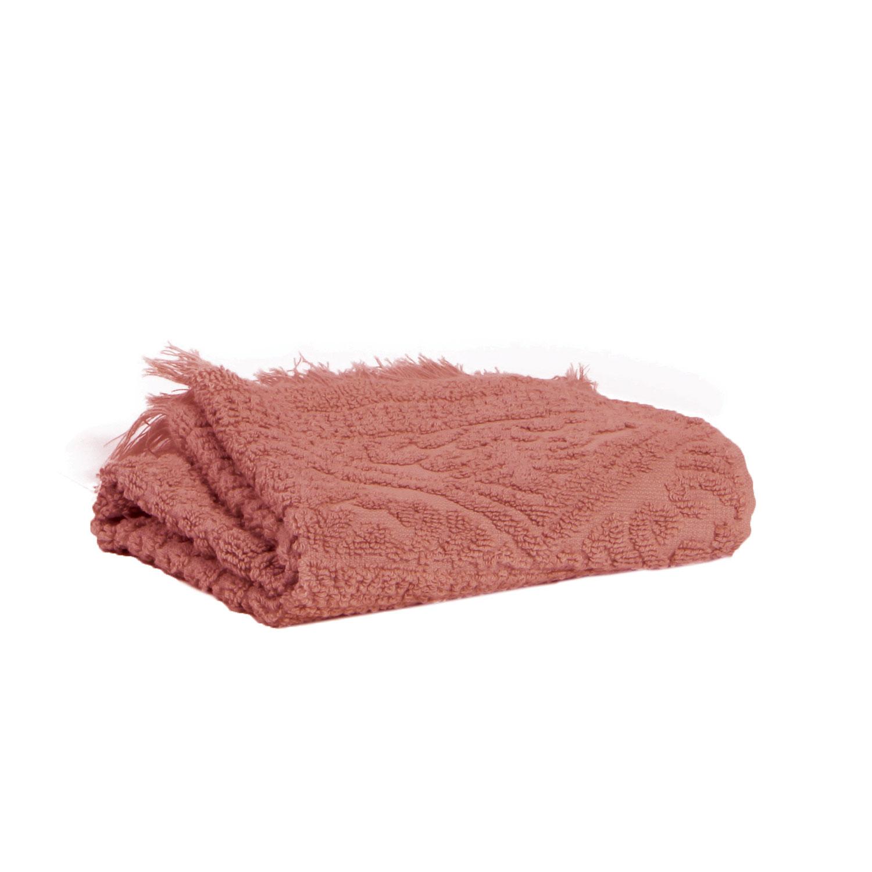 Drap de douche en coton blush 70 x 140