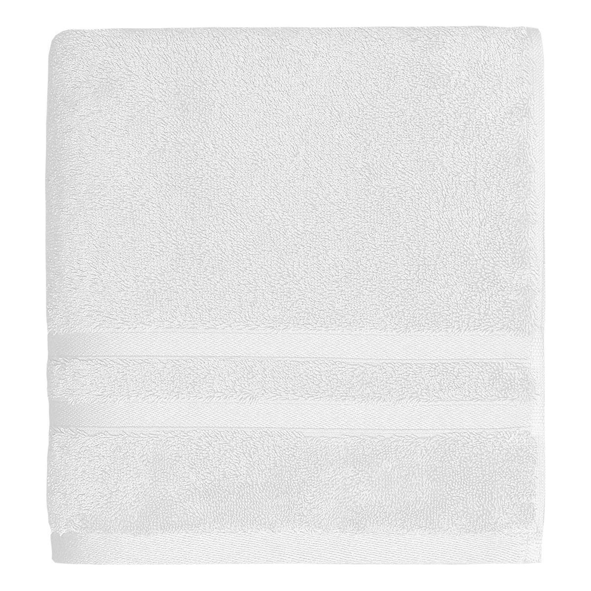 Drap de bain 600gr/m² Blanc 70x140 cm