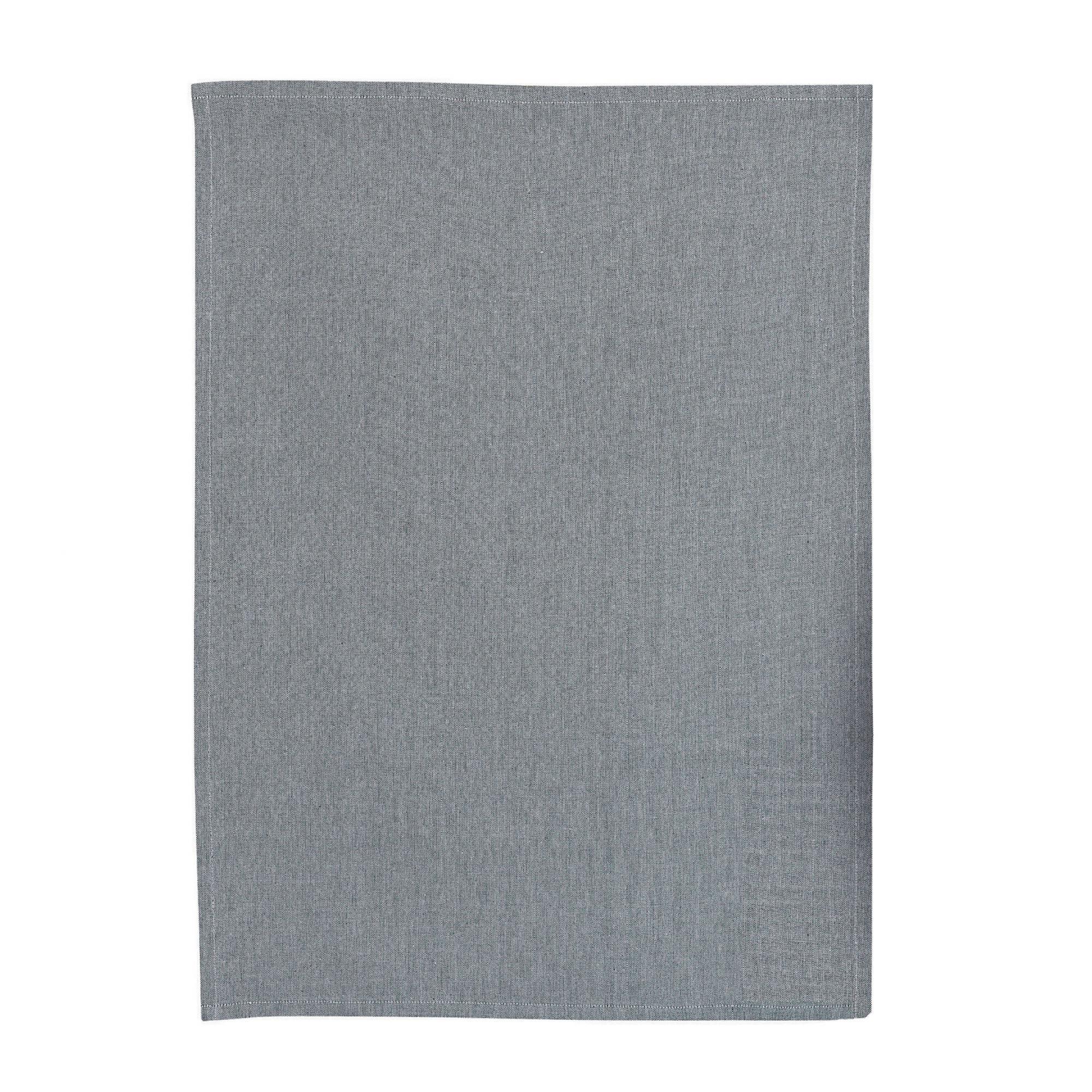 Torchon  en coton ombre 50 x 70