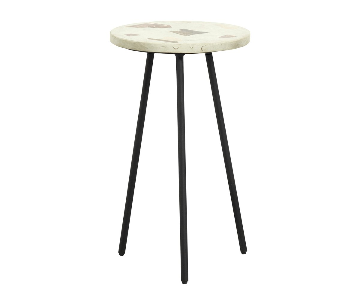 Table d'appoint moderne terrazzo - Nordal