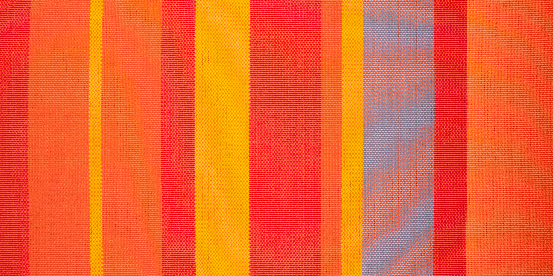 Hamac classique kingsize en tissu orange