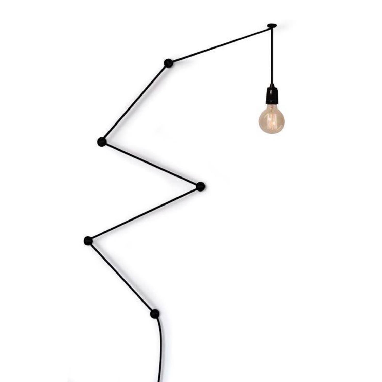 Suspension câble noir L600cm