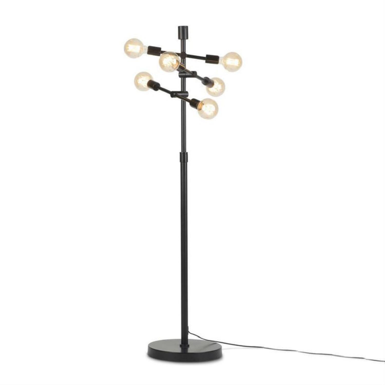 Lampadaire 6 lumières métal H158cm