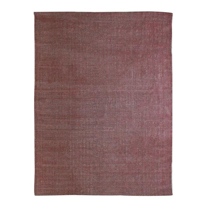 Tapis effet délavé burgundy 190x290