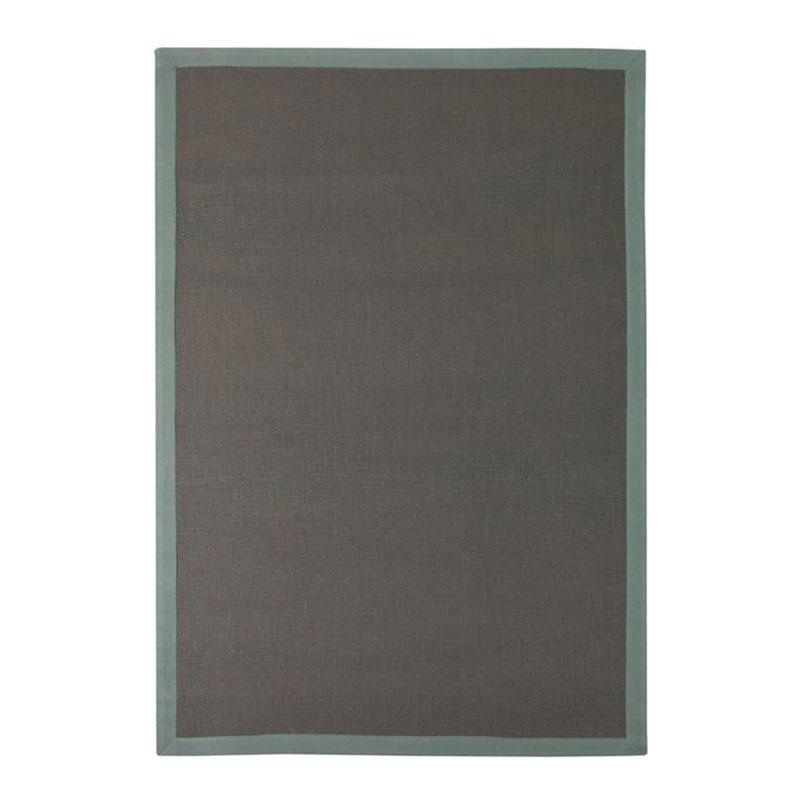 Tapis en jute gris 160x230
